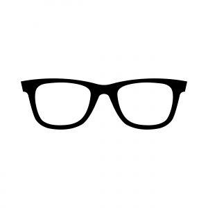 Cool Sunglasses Eye Frames Vector Icon